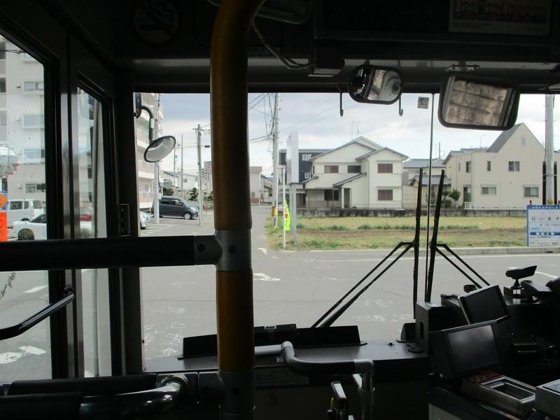2020.2.26 (48) JR岡崎駅西口いきバス - 十字路を左折 1200-900