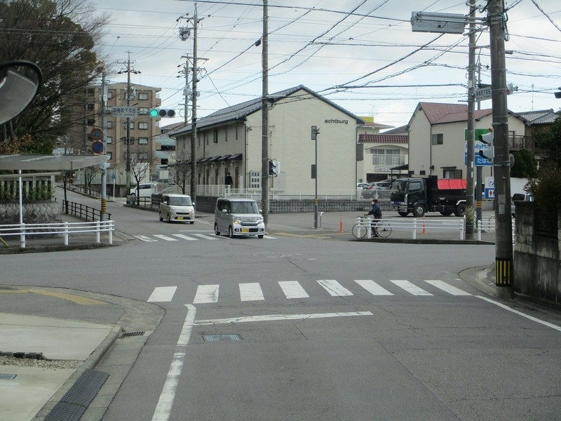 2020.2.26 (54) JR岡崎駅西口いきバス - 羽根町下河田交差点を直進 1200-900