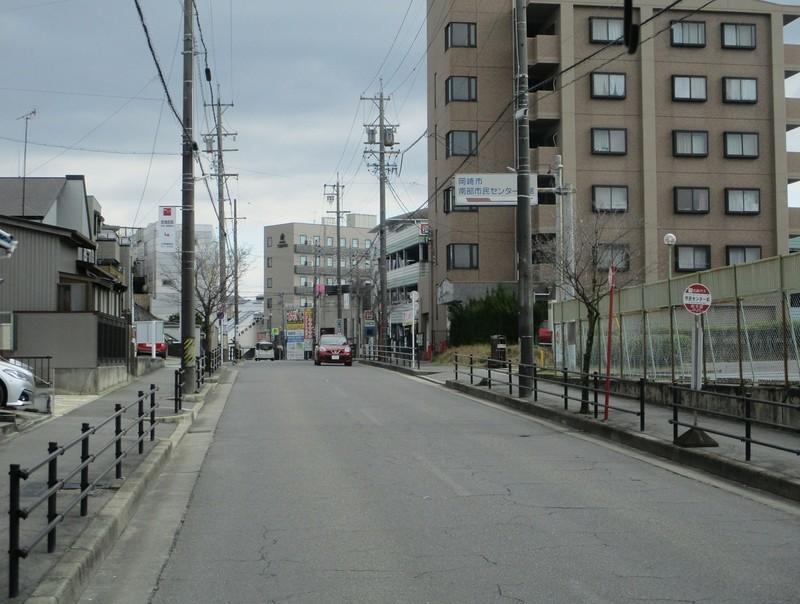 2020.2.26 (55) JR岡崎駅西口いきバス - 市民センター前バス停 1590-1200