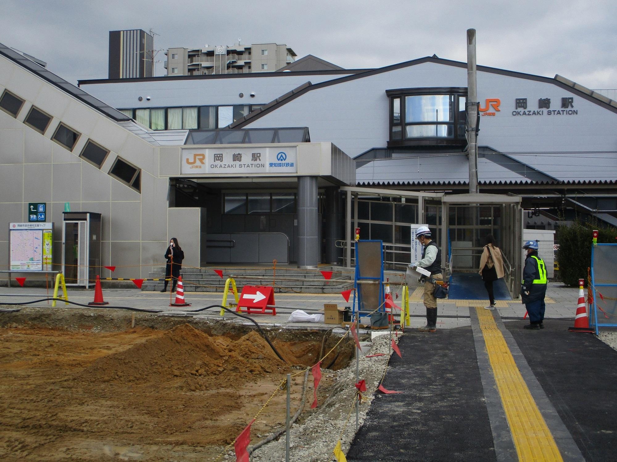 2020.2.26 (58) 岡崎駅 - にしぐち 2000-1500