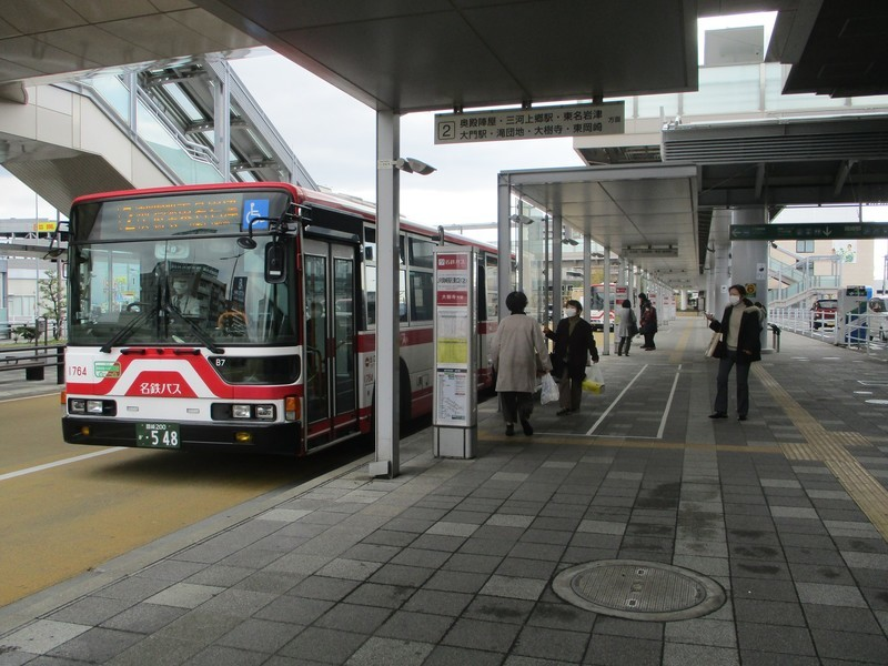 2020.2.26 (60) JR岡崎駅 - 東名岩津いきバス 2000-1500