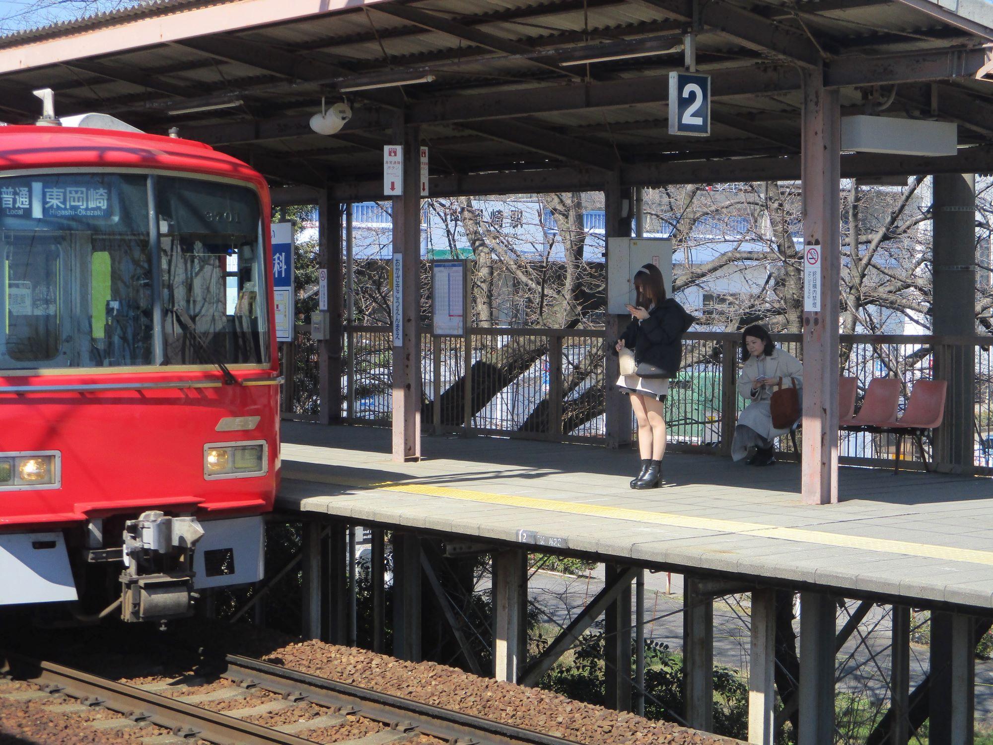 2020.3.6 (65) 岡崎公園前 - 東岡崎いきふつう 2000-1500