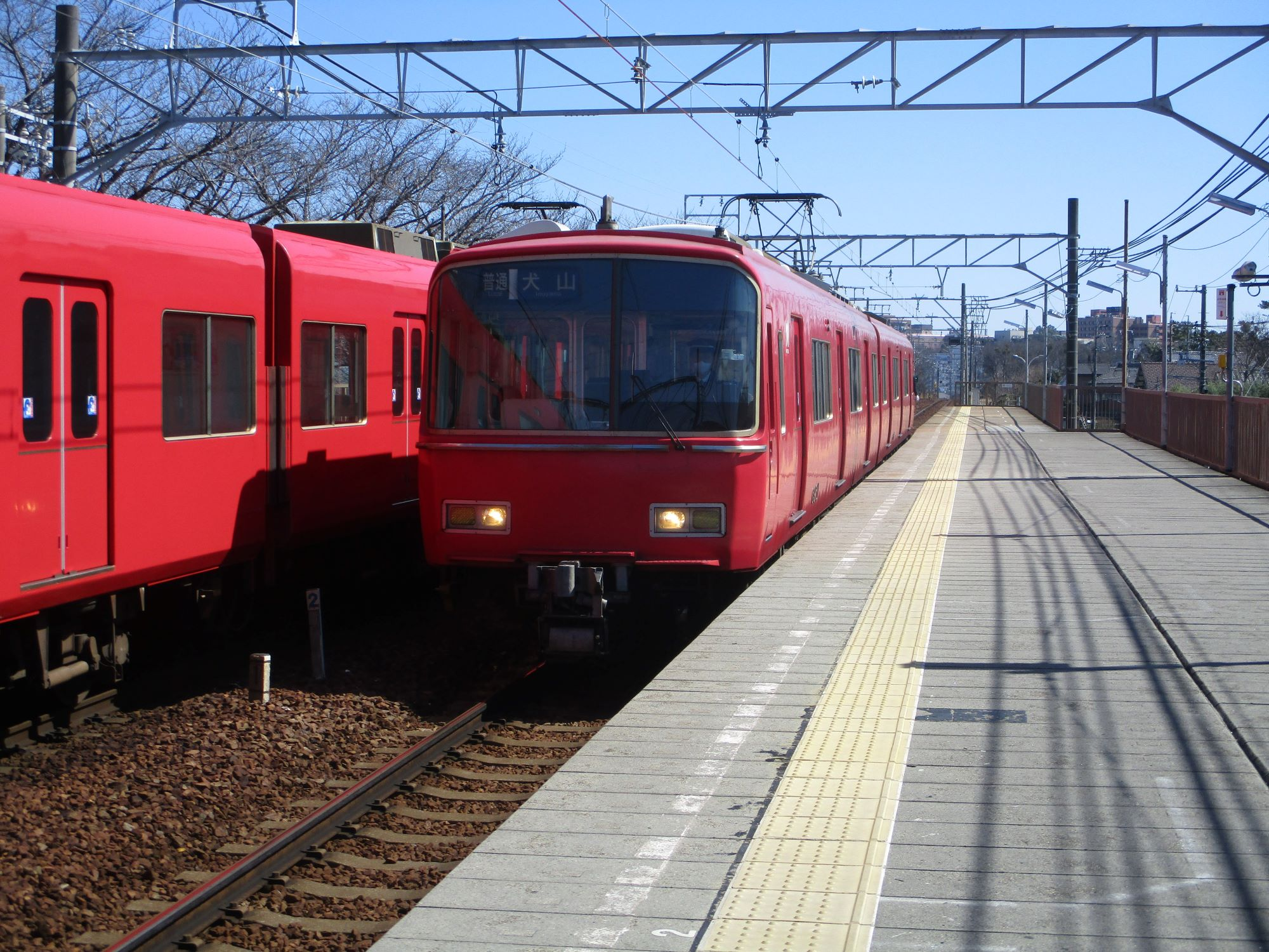 2020.3.6 (66) 岡崎公園前 - 犬山いきふつう 2000-1500