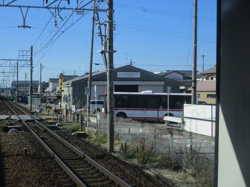 2020.3.6 (73) 犬山いきふつう - あんじょう街道ふみきり 1600-1200