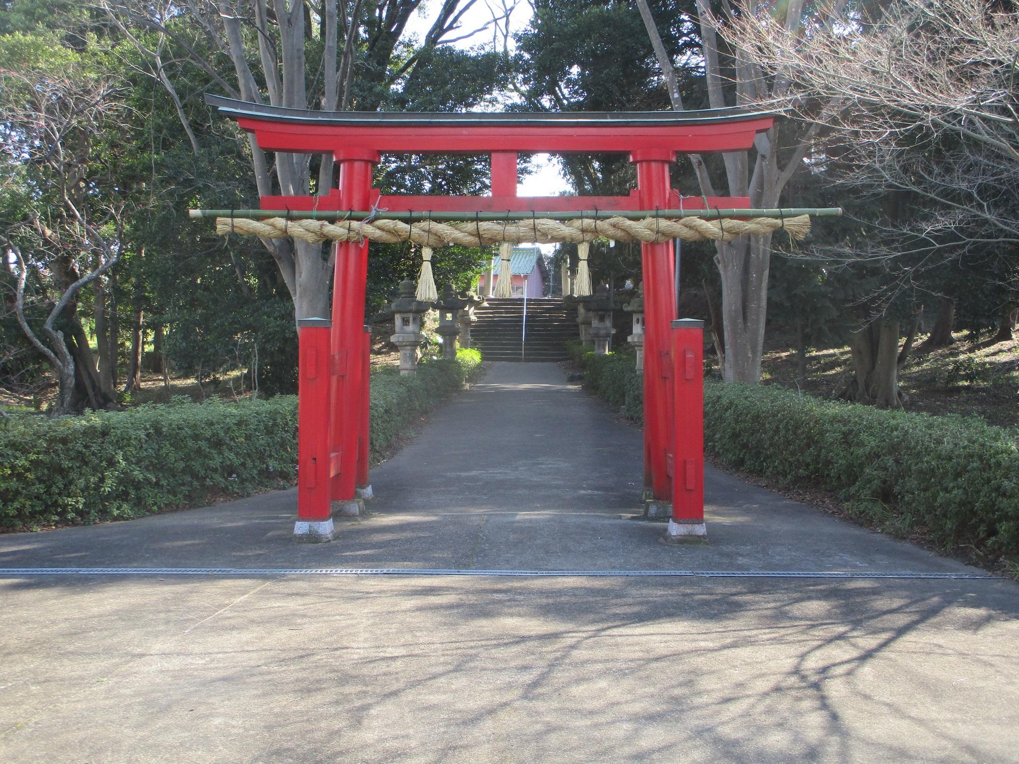 2020.3.7 (23) 白鳥神社 - あっかいとりい 2000-1500