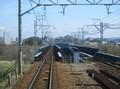 2020.3.7 (7) 東岡崎いきふつう - 矢作川鉄橋をわたる 1600-1180