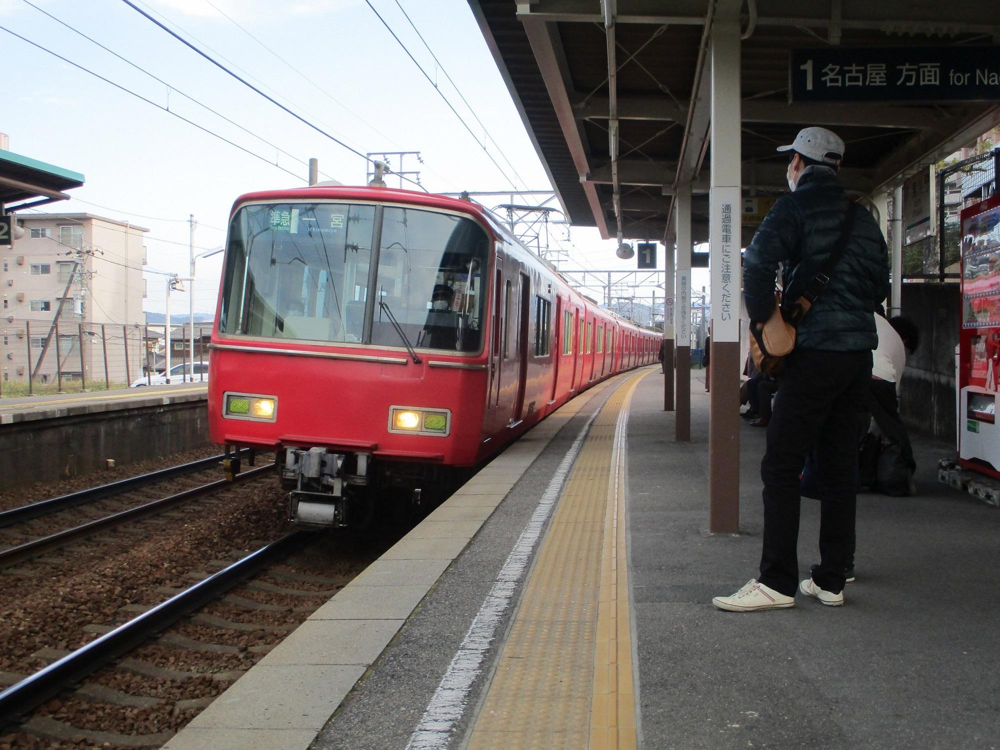 2020.3.7 (25) 男川 - 一宮いき準急2000-1500