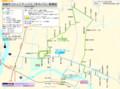 まちバスの路線図(2018.1.4 変更) 1320-975