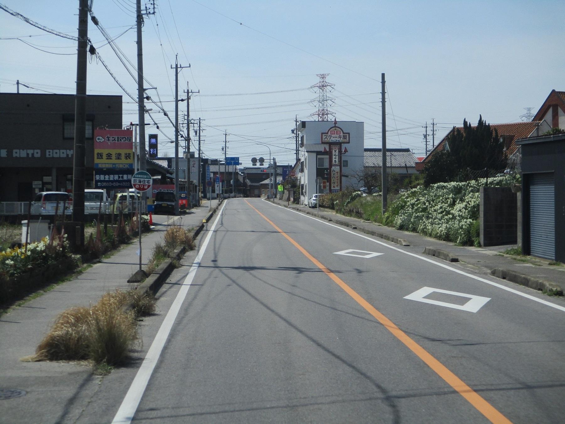 2020.3.13 (49) 寺津・刈宿循環バス - 巨海住宅バス停 1800-1350