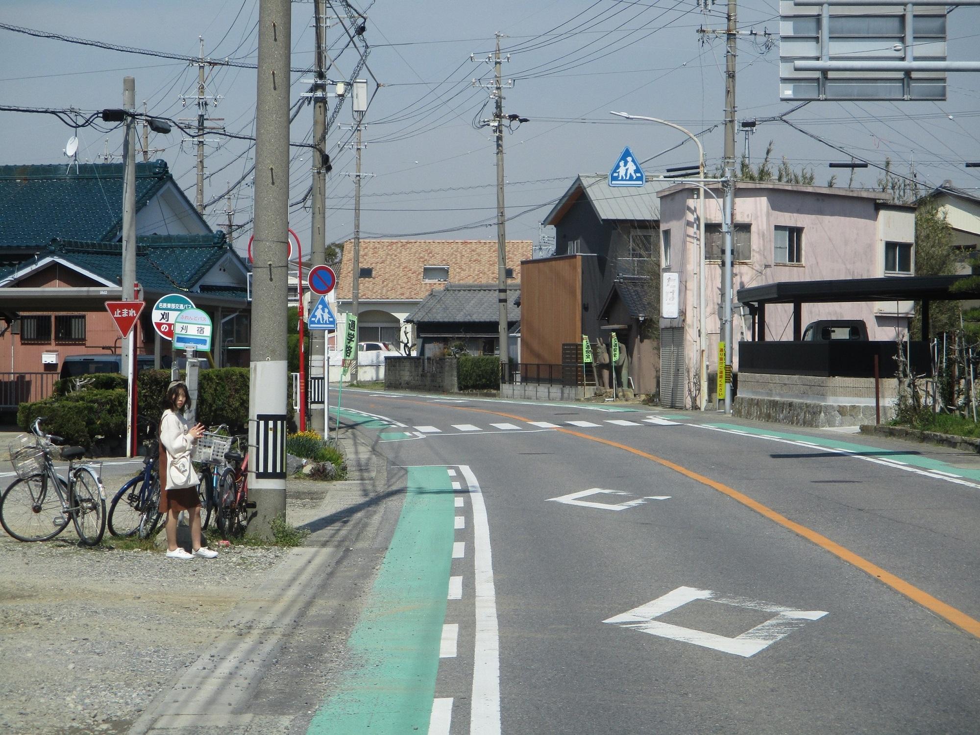 2020.3.13 (51) 寺津・刈宿循環バス - 刈宿バス停 2000-1500