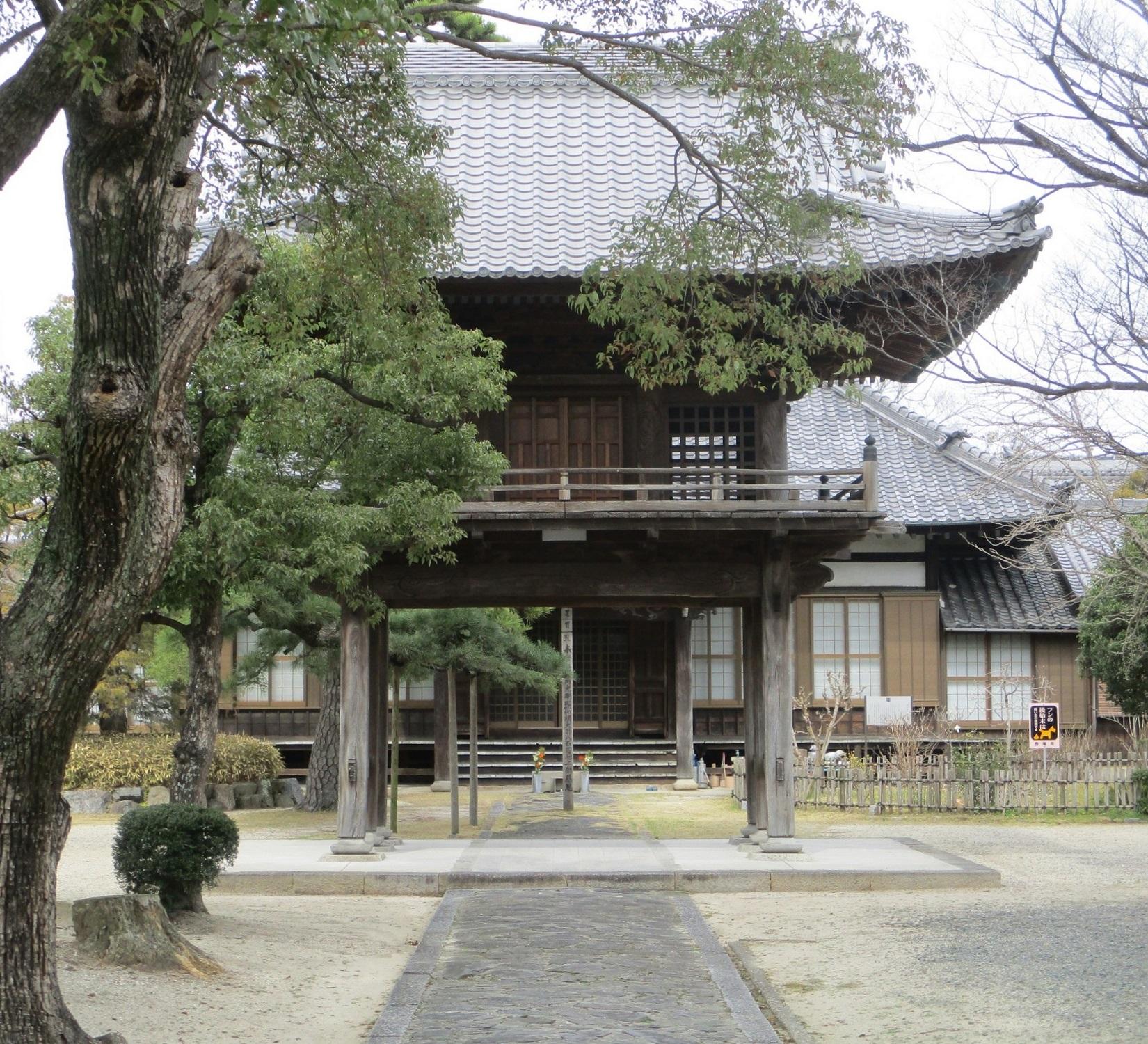 2020.3.13 (59) 養国寺 - 中門 1650-1500
