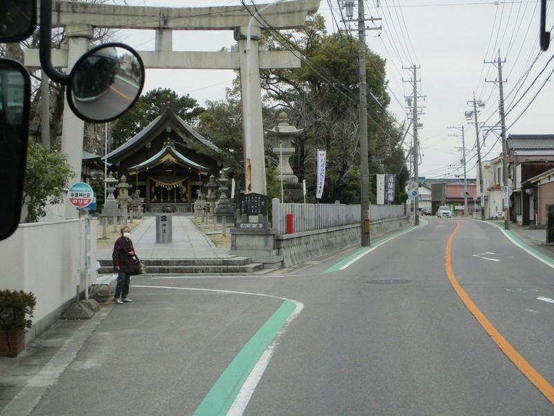 2020.3.13 (63) 西尾市民病院いきバス - 寺津神社前バス停 1600-1200