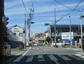 2020.3.9 (3) 男川小学校西交差点を右折 1180-900
