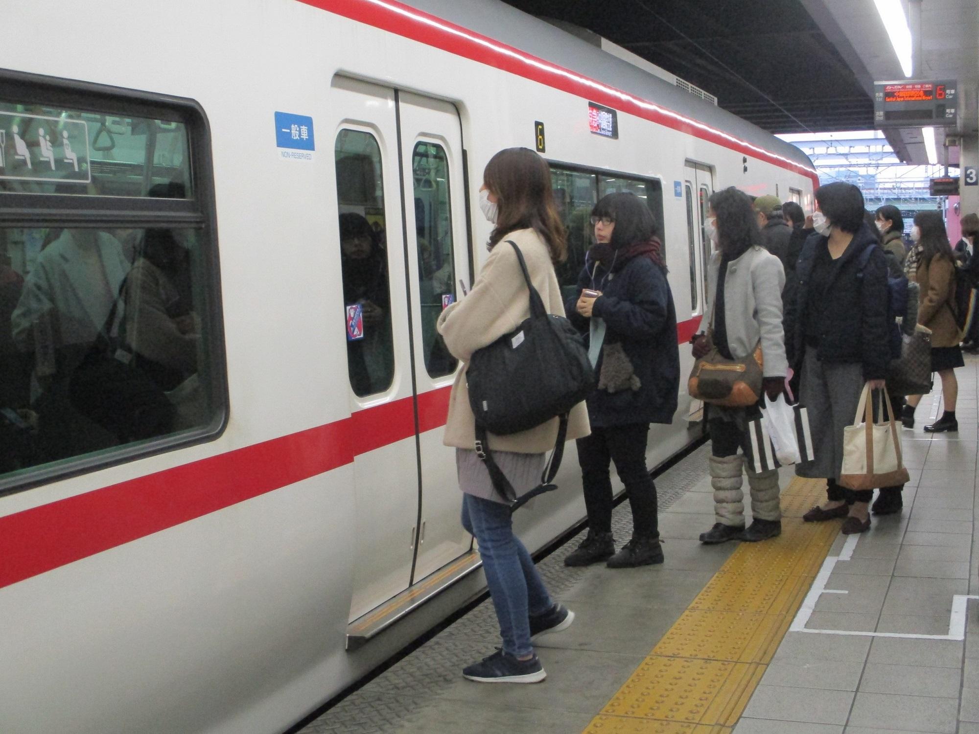2020.2.12 (54) 金山 - セントレアいき特急 2000-1500