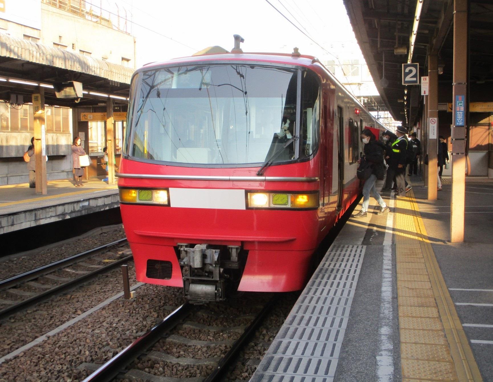 2020.3.17 (30) 東岡崎 - 岐阜いき特急 1730-1340