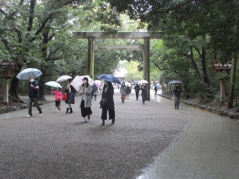 2020.2.16 (10) 熱田神宮 - おくとりい 2000-1500