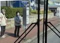 2020.3.19 (54) 西尾いきバス - 西尾市民病院バス停 1460-1050