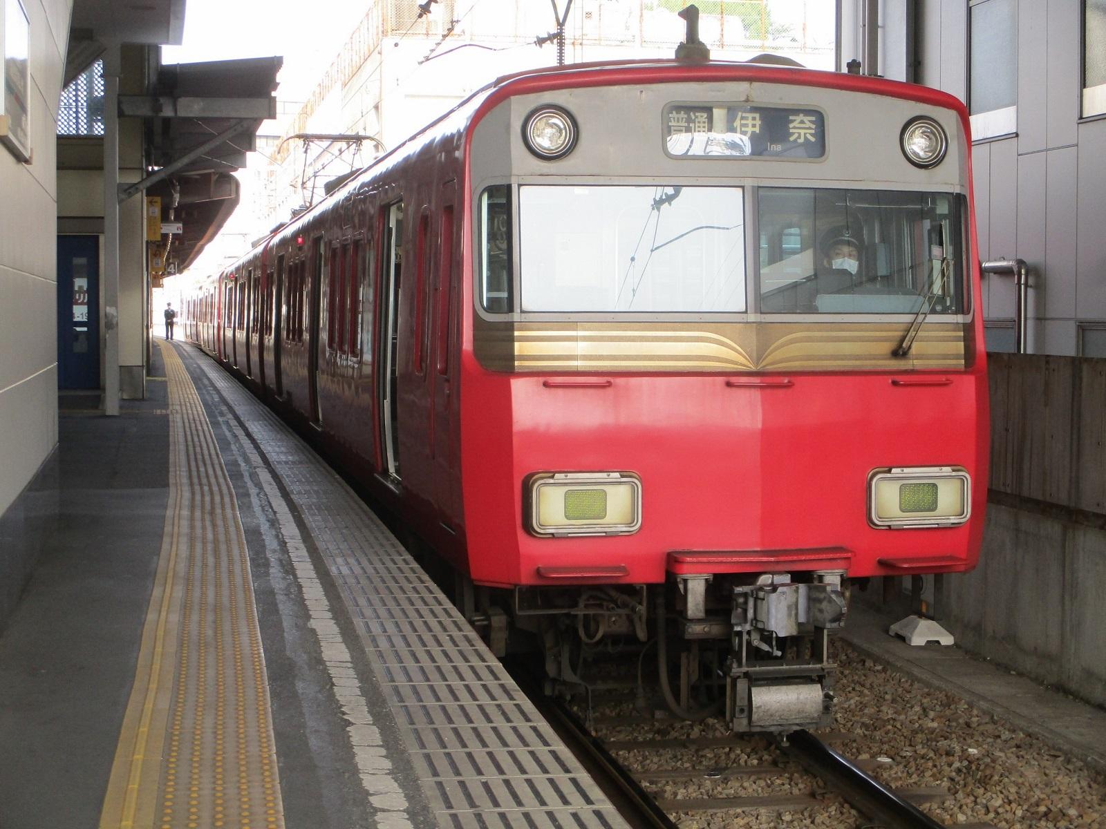 2020.3.22 (7) 東岡崎 - 犬山いきふつう 1600-1200