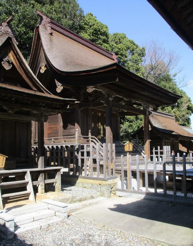 2020.3.24 (8) 幡頭神社 - 本殿(ひだりから) 1460-1860