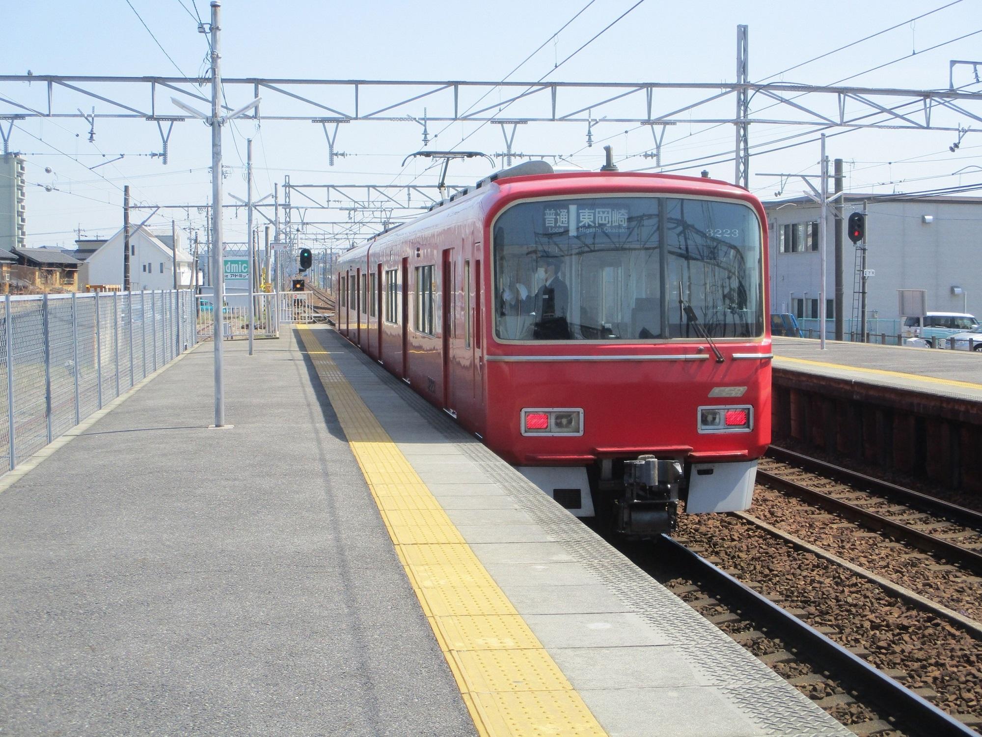 2020.3.26 (13) 矢作橋 - 東岡崎いきふつう 2000-1500