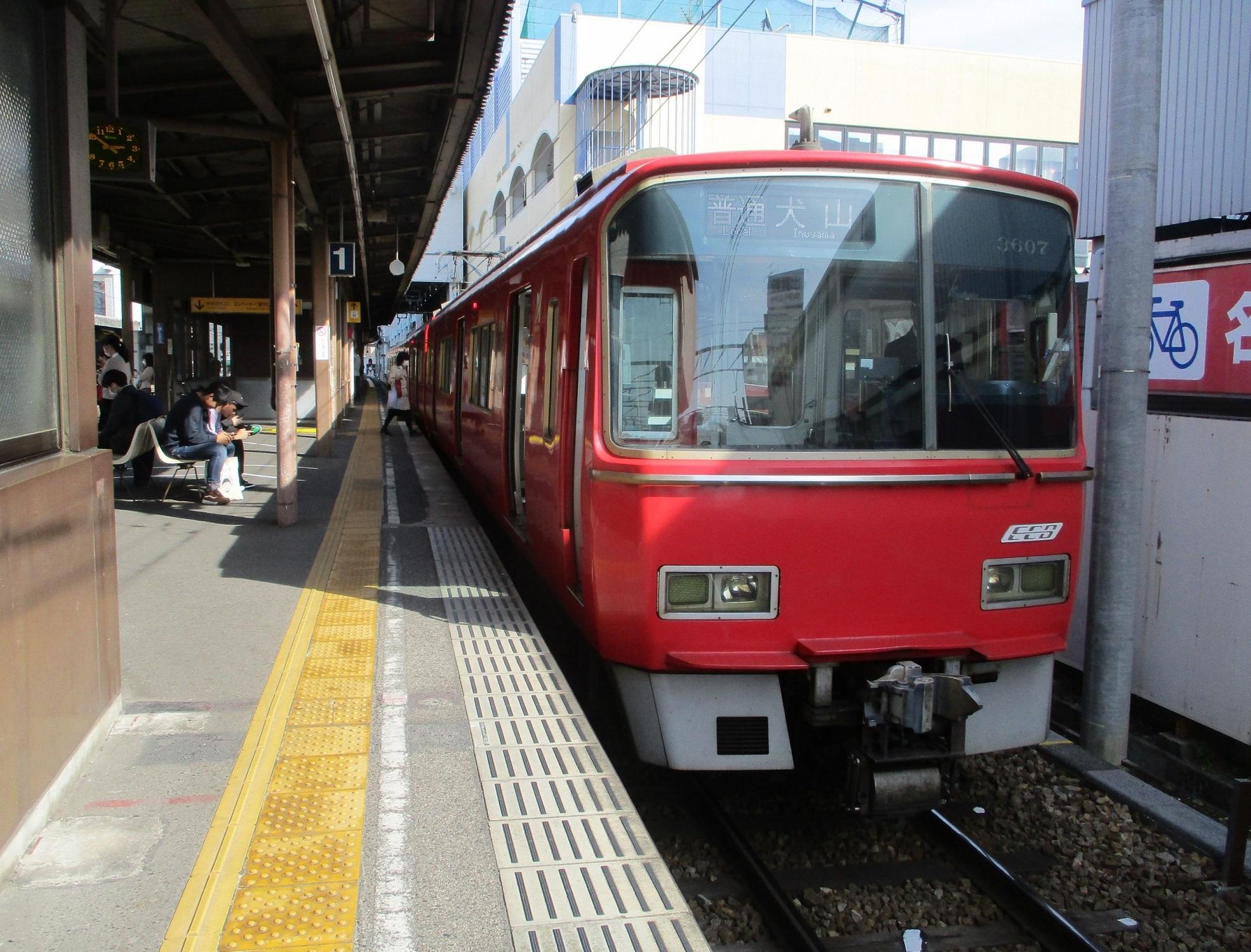2020.3.26 (20) 東岡崎 - 犬山いきふつう 1970-1500