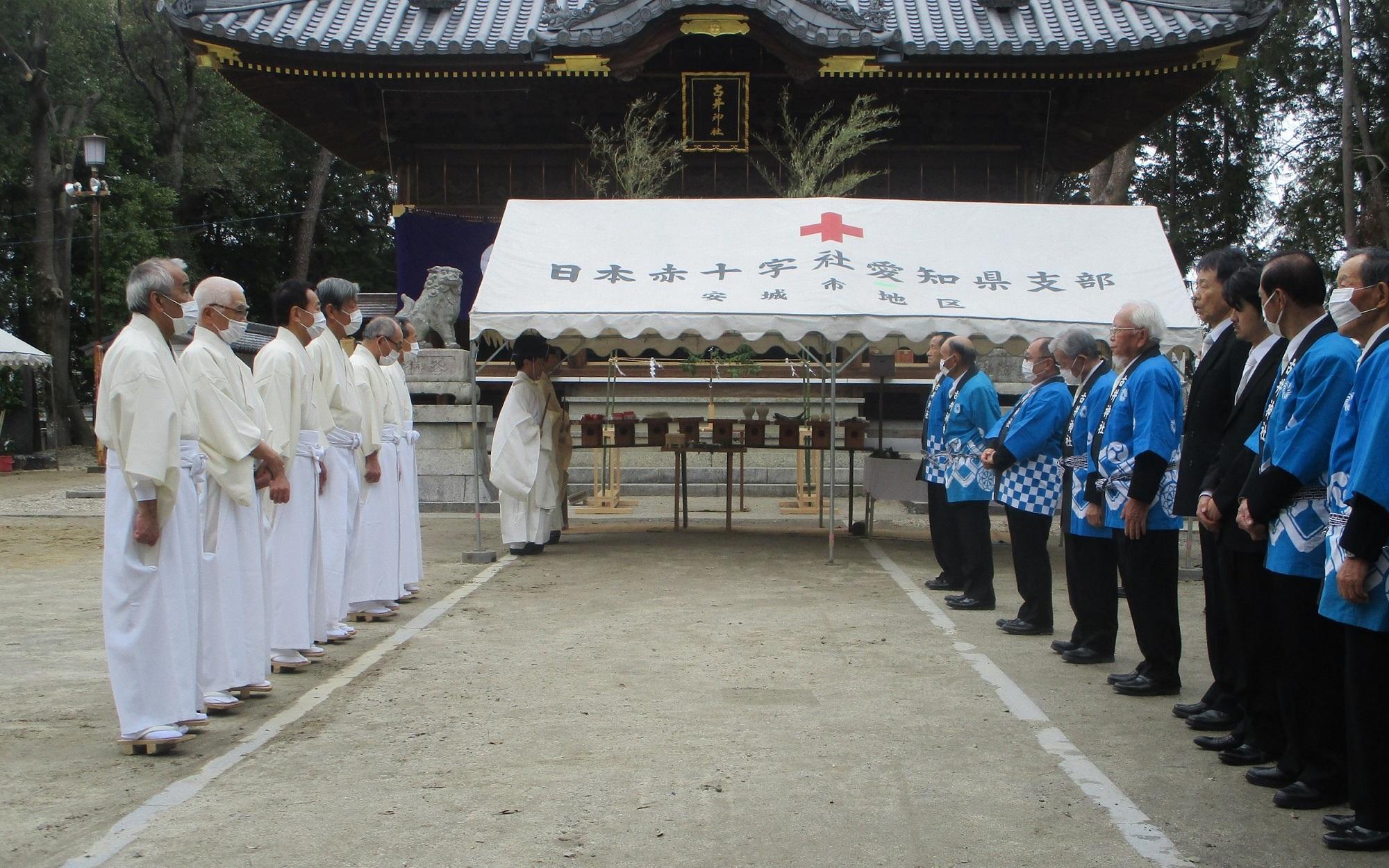 2020.3.28 (7) 古井神社きよはらい - はじめ 2000-1250