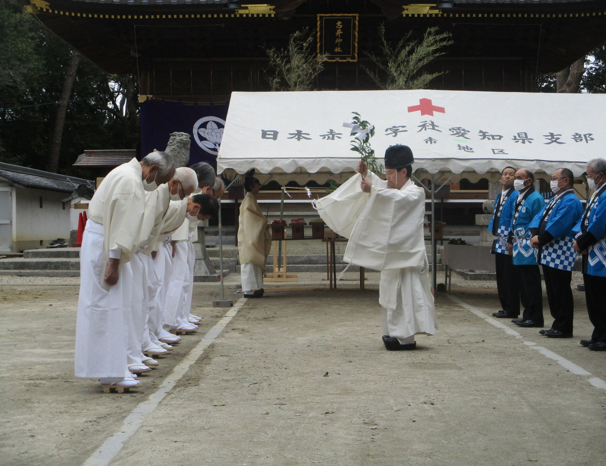 2020.3.28 (9) 古井神社きよはらい - おはらい 1950-1500
