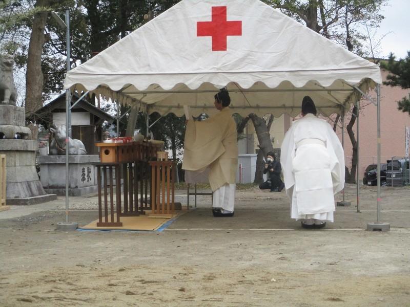2020.3.28 (11) 古井神社きよはらい - 宮司のりと 2000-1500