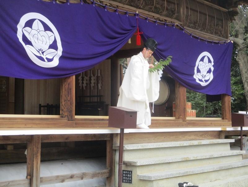 2020.3.28 (12) 古井神社きよはらい - 社殿おはらい 1980-1500
