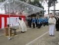 2020.3.28 (18) 古井神社改修記念碑 - 除幕式 1560-1200