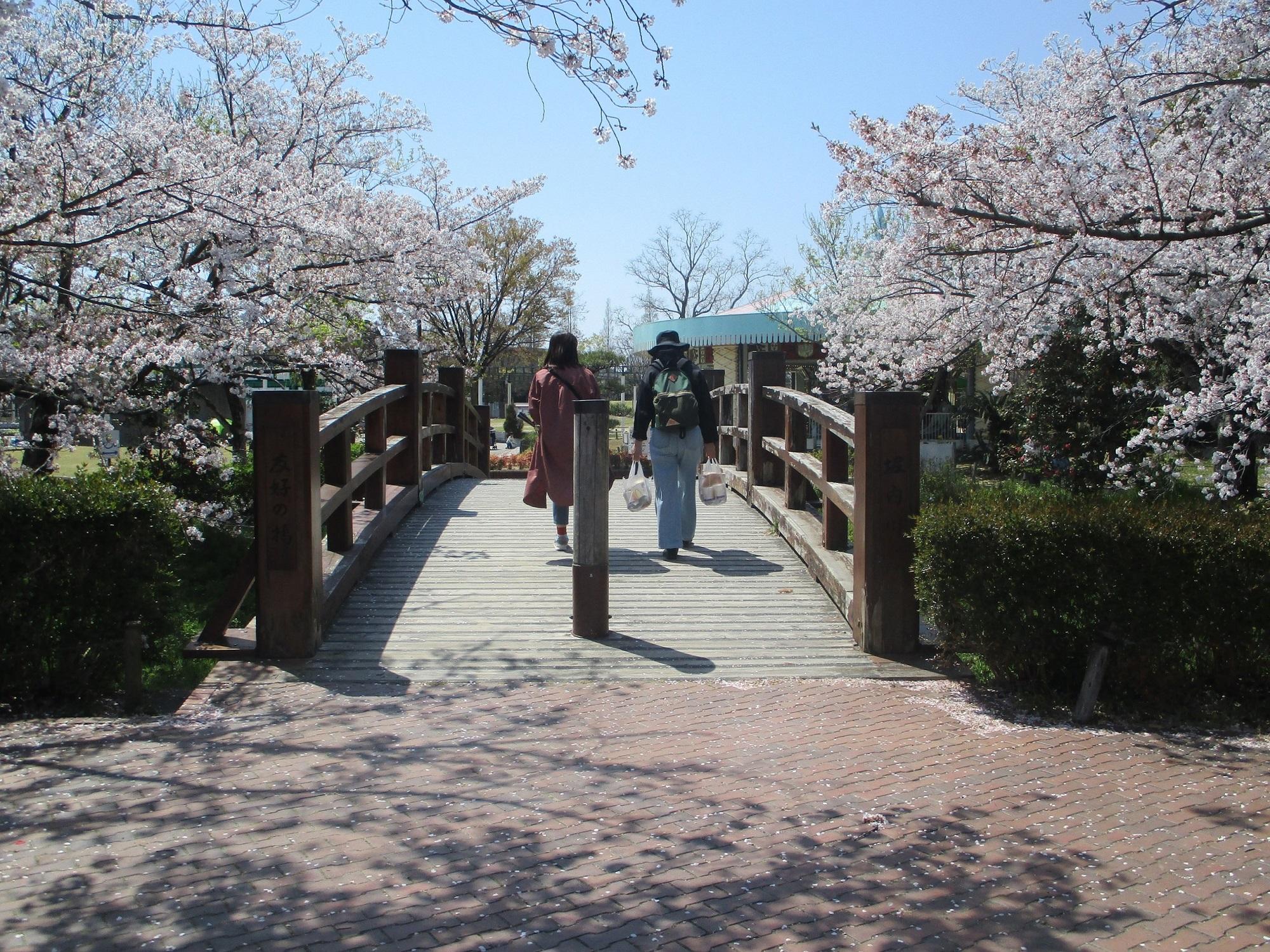 2020.4.9 (2) 堀内公園 - 友好のはし 2000-1500