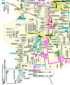岡崎医療センター線の路線図(路線図ドットコム) 640-765
