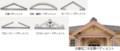 き)旧愛知県第二尋常中学校講堂 - 玄関ペディメント 625-265