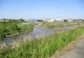 2020.4.25 (5) 広田川に占部川が合流 2000-1380