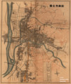 1924年岡崎市全図(岩瀬文庫所蔵) 1200-1420