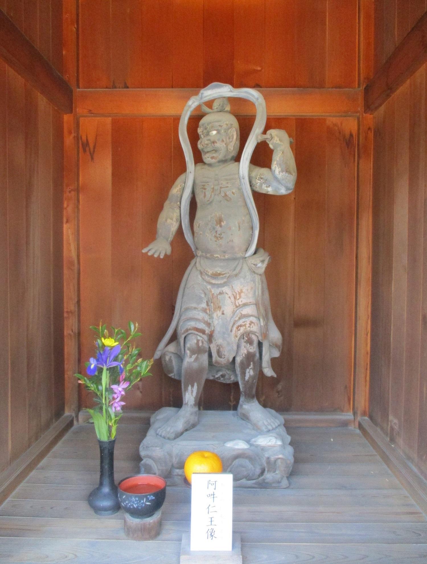 2020.4.28 (4) 法性寺 - 山門(阿吽仁王像) 1500-1980