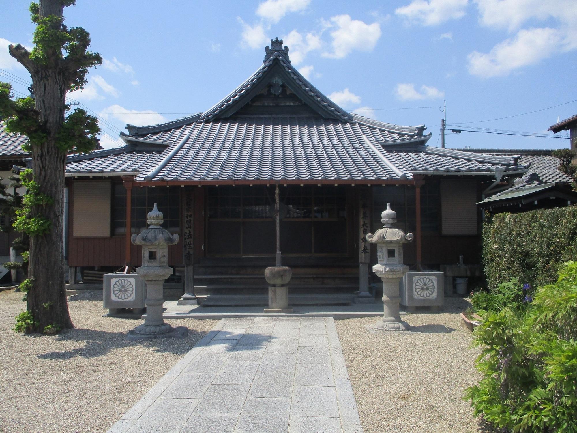 2020.4.28 (6) 法性寺 - 本堂 2000-1500