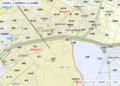 正名町と上羽角町のへんの地図(あきひこ) 880-630