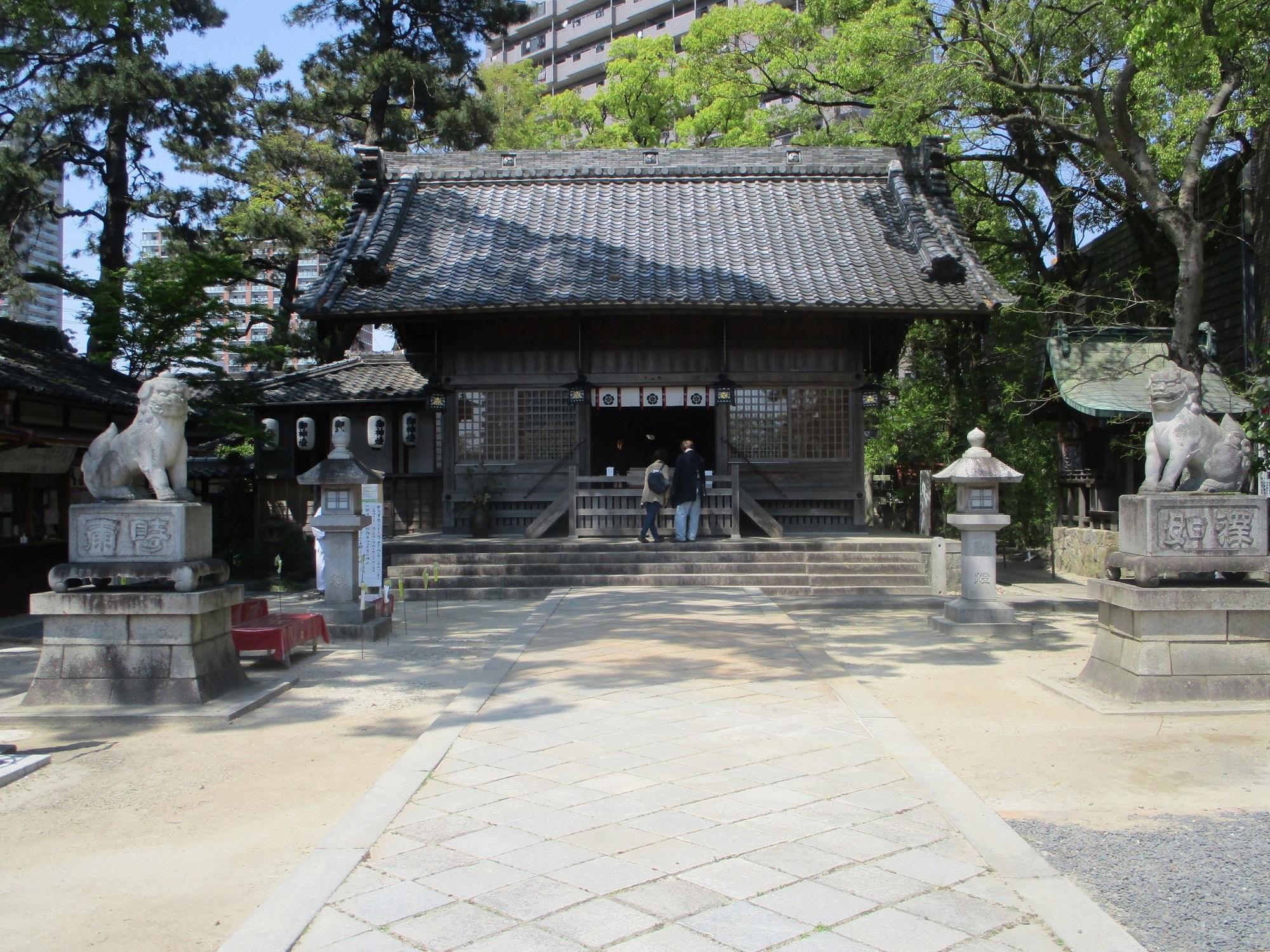 2020.4.29 (7) 菅生神社 - 拝殿 2000-1500