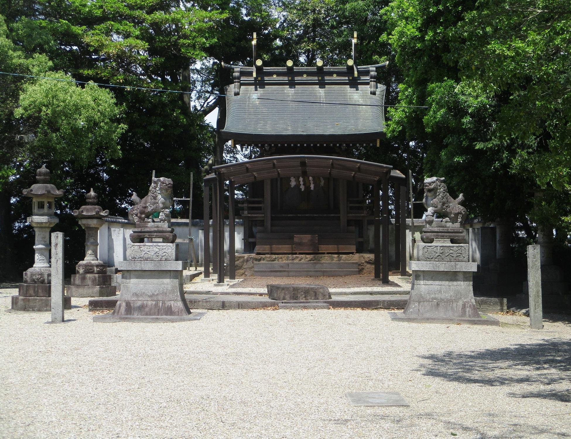 2020.5.13 (7) 酒人神社 - 本殿 1950-1500