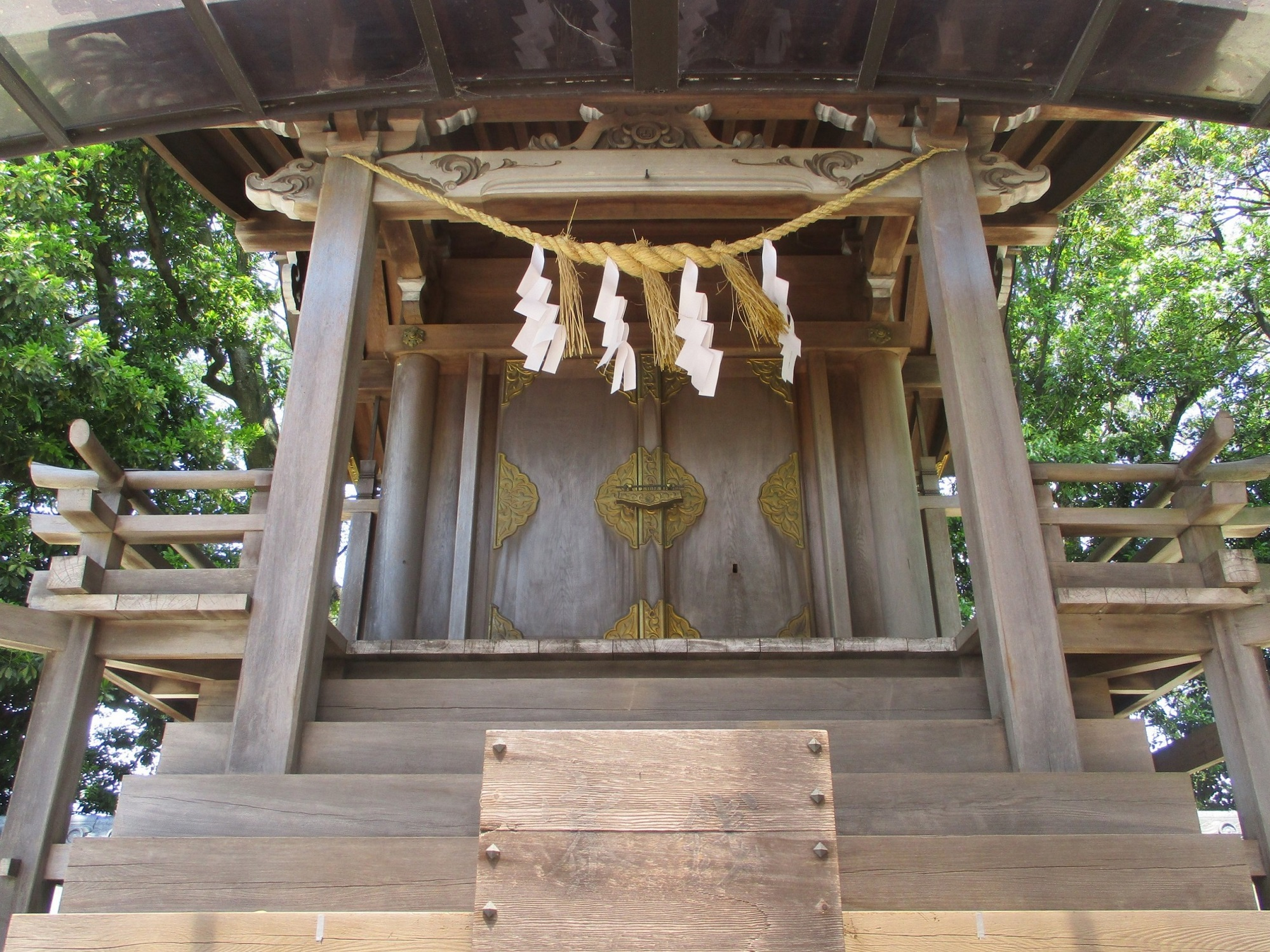 2020.5.13 (8) 酒人神社 - 本殿 2000-1500