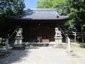 2020.5.17 (3) 柿碕和志取神社 - 拝殿 2000-1500