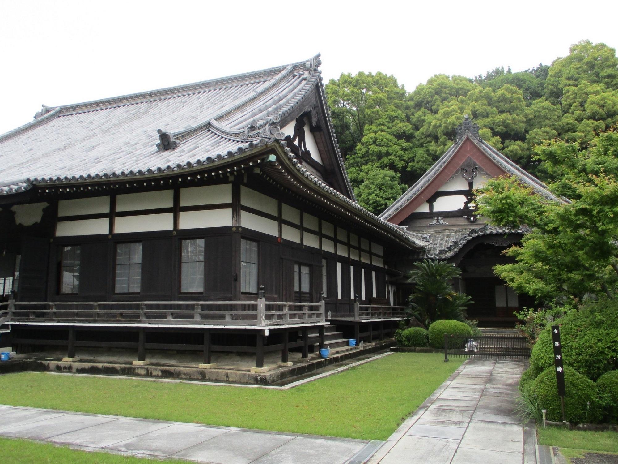 2020.5.19 (6) 随念寺 - 本堂と書院 2000-1500