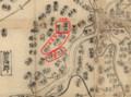 三州八郡地理之図 - 坂戸、島、小望、牧内 920-680
