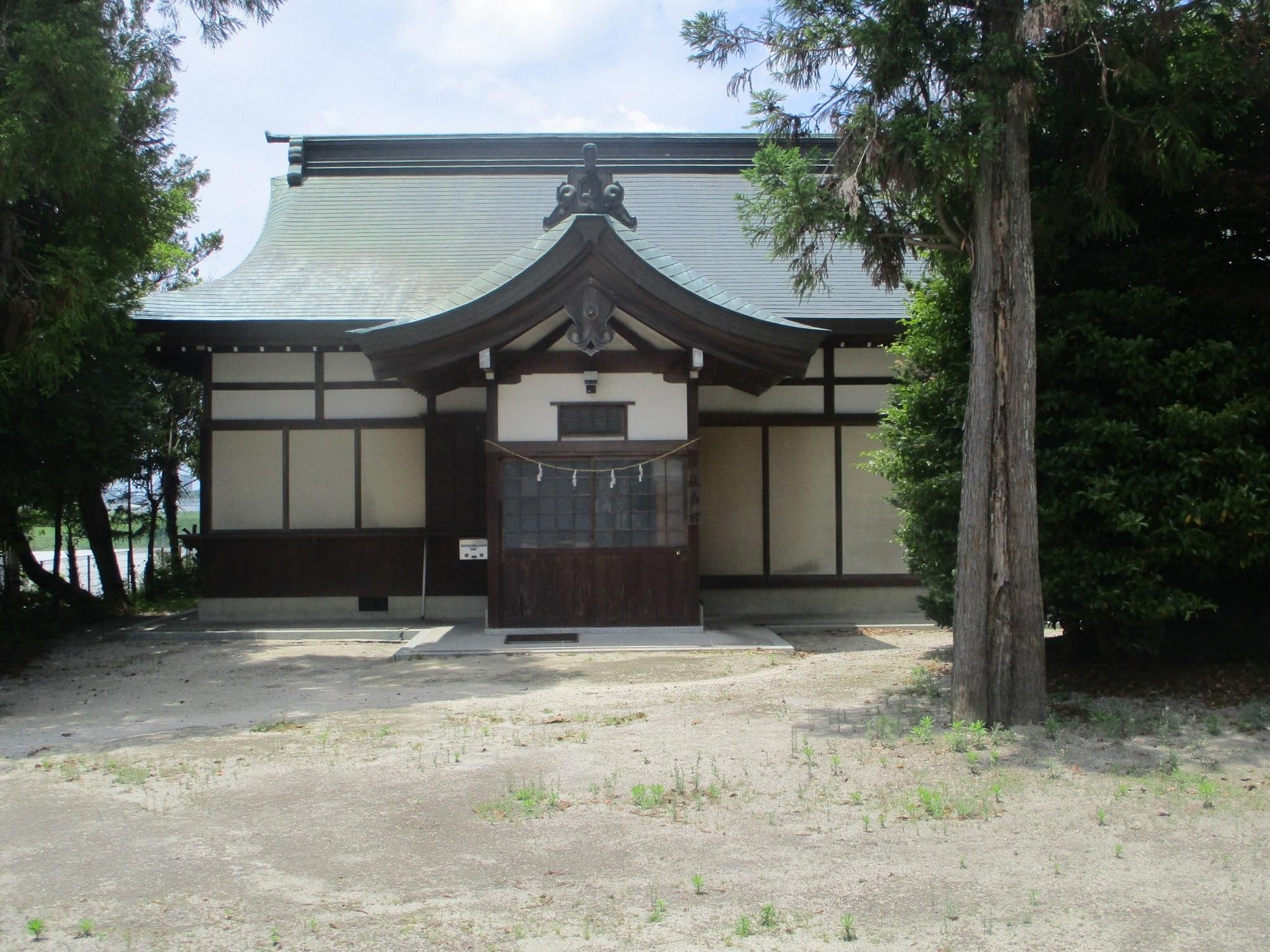 2020.5.27 (20) 鷲取神社 - 社務所 2000-1500