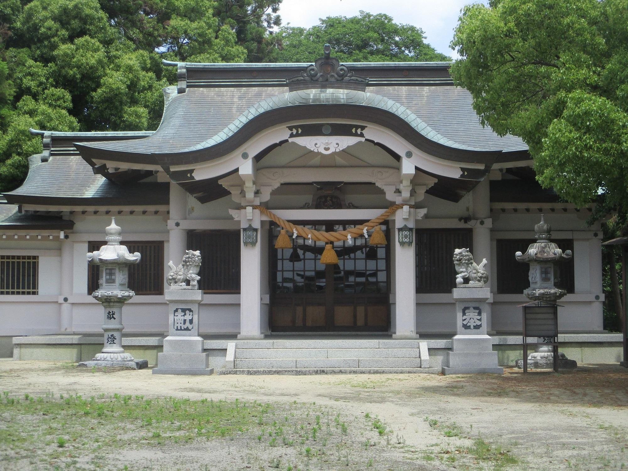 2020.5.27 (21) 鷲取神社 - 拝殿 2000-1500