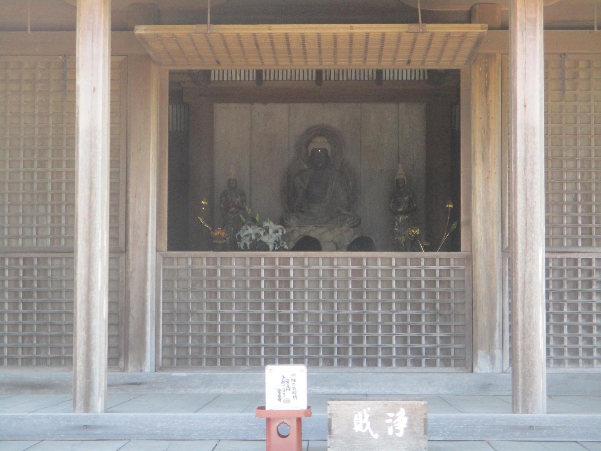 2020.5.29 (16) 金蓮寺弥陀堂 - 開口部 2000-1500