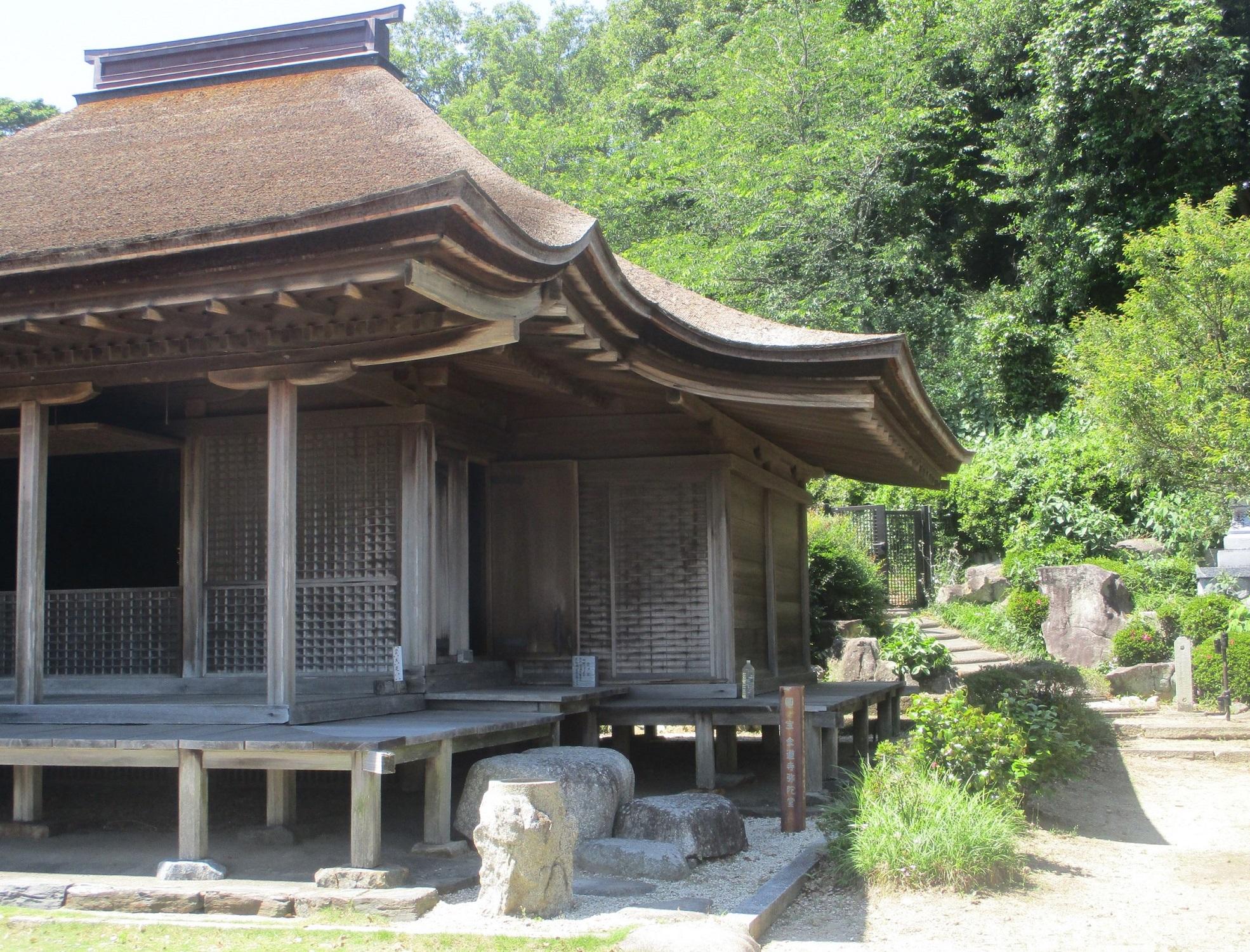 2020.5.29 (23) 金蓮寺弥陀堂 - 孫庇 1970-1500