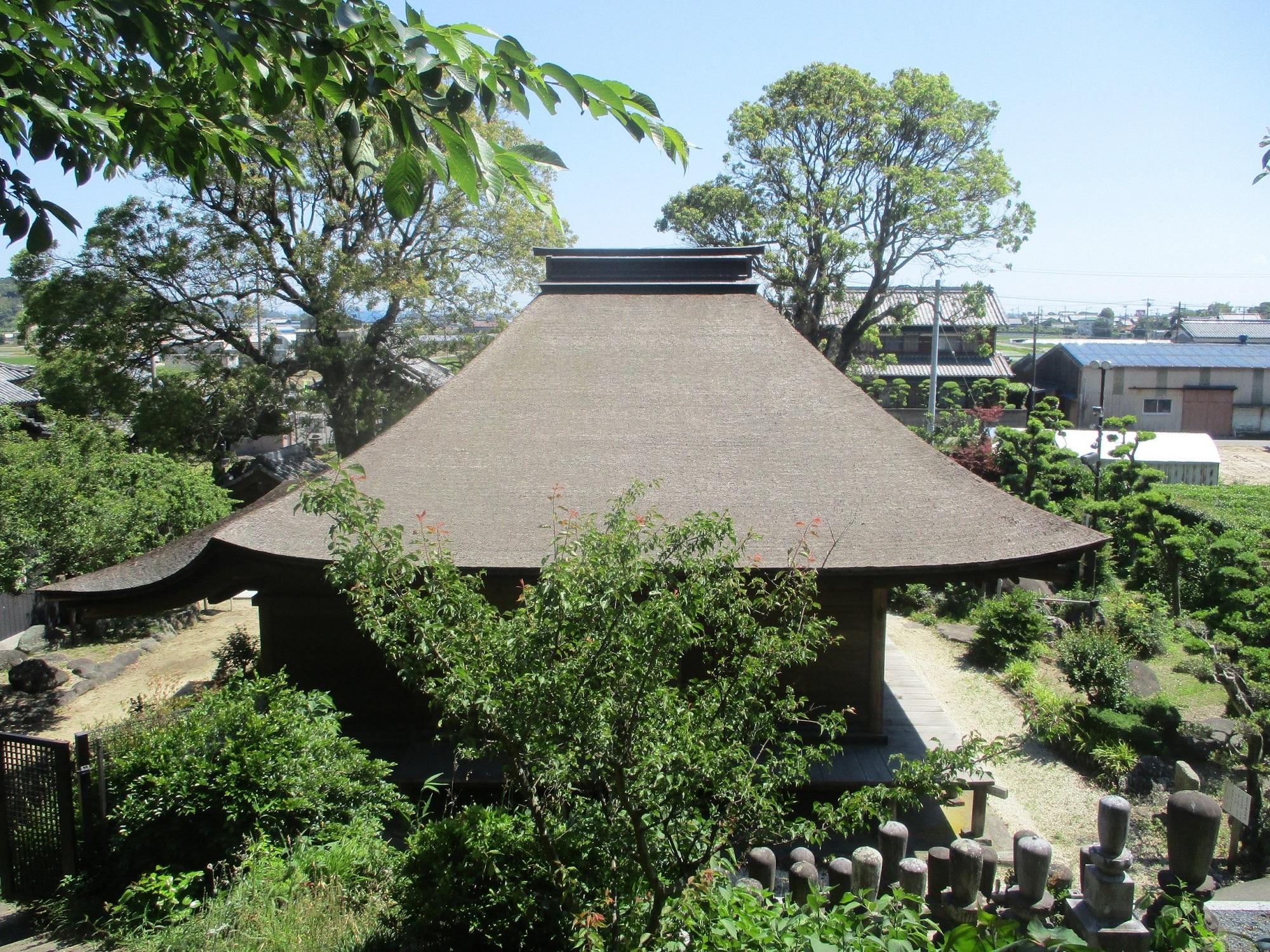 2020.5.29 (24) 金蓮寺弥陀堂 - 背面 2000-1500