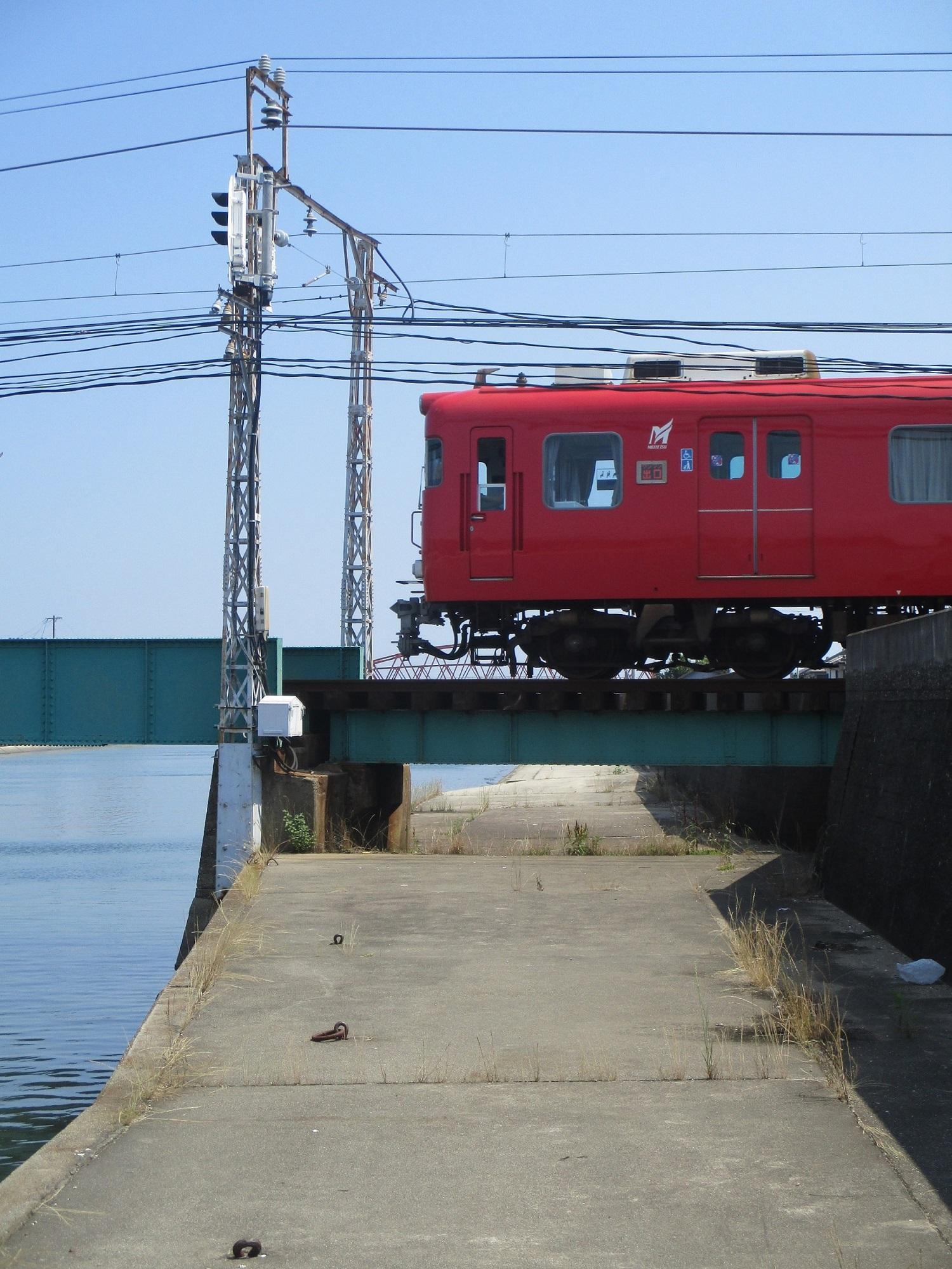 2020.6.16 (12) 矢崎川鉄橋 - 蒲郡いきふつう 1500-2000